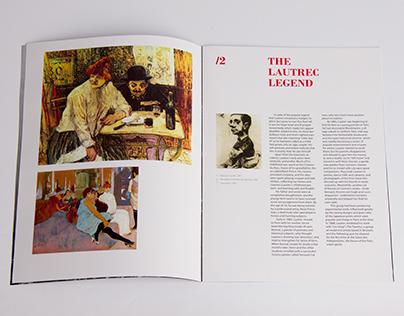 De Toulouse-Lautrec - brochure