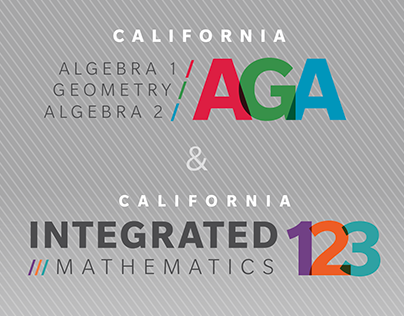 High School Math Marketing Brochures