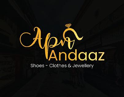 Apna Andaaz logo Designed for a brand