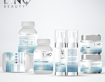 cosmetic label for new beauty premium product