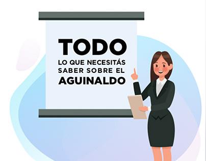 Campaña Digital aguinaldo, Ministerio de Trabajo