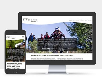 Bikescape identity & site design