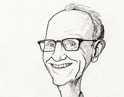 Karikatuur van Jan