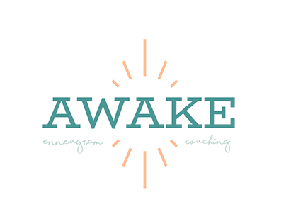 AWAKE Enneagram Coaching Brand Identity