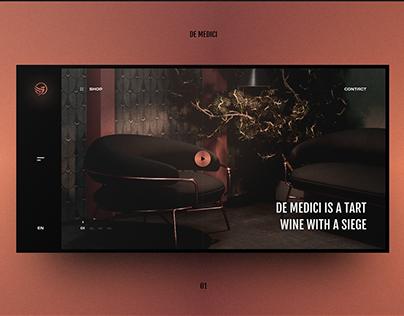 De Medici concept design