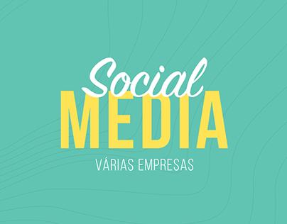 Social Media: Várias Empresas (parte 2)