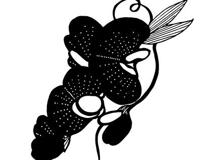 BBW_flower illustration