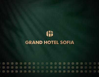 Grand Hotel Sofia Rebrand