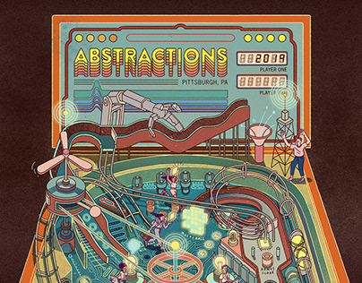 Abstractions Con Poster