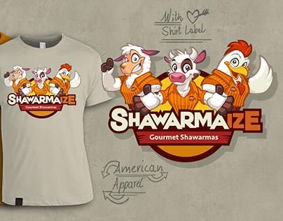 Shawarmaize Brand Identity