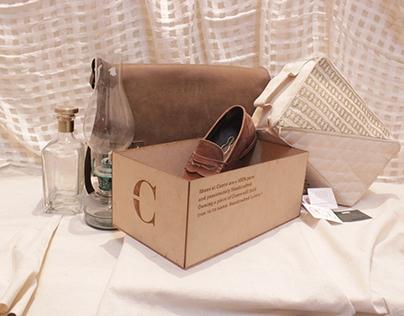 Cuero Handcrafted luxury - Packaging
