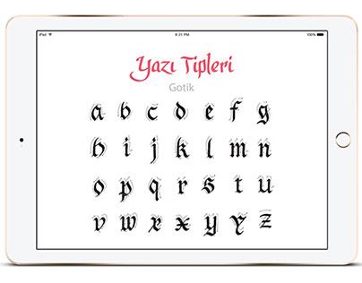 Calligraphy - iPad App