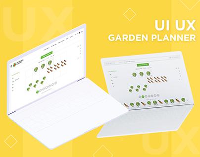 UI UX Online Garden Planner
