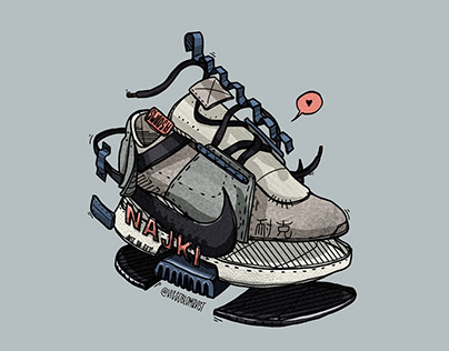 Sneaker Illustrations & Sketches