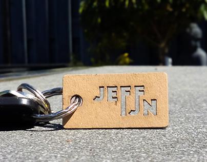 JEFFIJN keychain