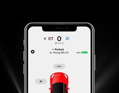 Tesla | MobileAppRedesign