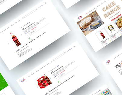 UX & UI Design - A to Z Catering Supplies
