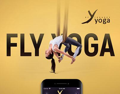 Mobile application for YYOGA yoga studio