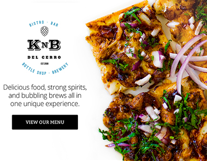 Client Work For KnB Bistro & Bottle Shop