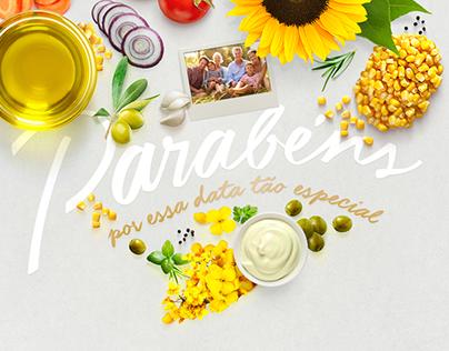Azeite Salada | E-mail Marketing de Aniversário