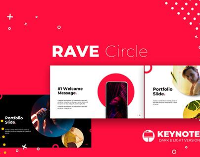 Rave Circle Keynote Template