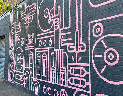 Armstrong Audio Mural
