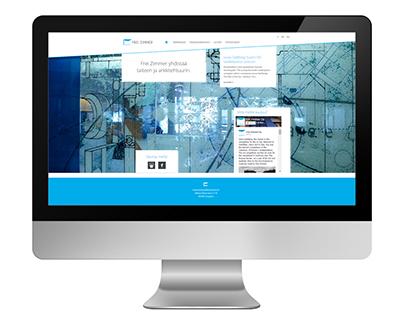 Frei Zimmer website design
