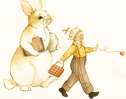 Be Cool, Stay in School - children's illustration & art