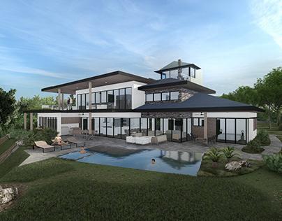 House, Austin, Texas, USA