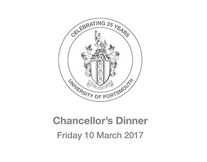 University Chancellor's Dinner Branding