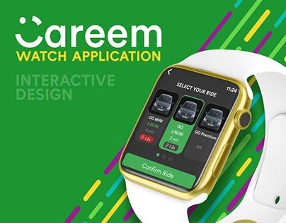 Careem Watch Application