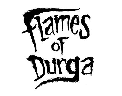 Flames of Durga band Logos