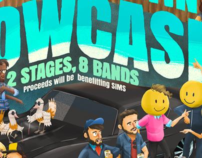 South Austin Showcase Poster