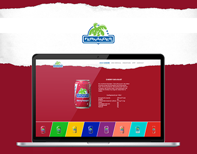 Fernandes Softdrinks - Redesign