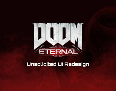 Doom Eternal - Unsolicited UI Redesign