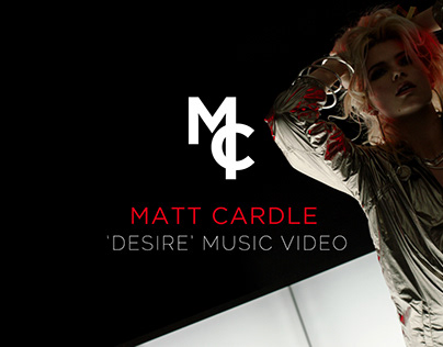 Matt Cardle: Desire - Music Video