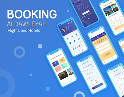 Aldawleyah | Mobile App Redesign