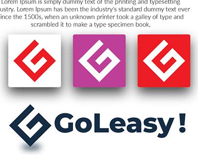 Modern G letter logo