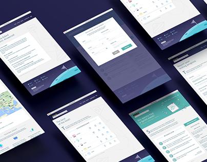 UI/UX design for Firefox Quantum Sprint 2017 Website
