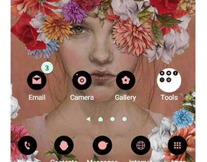 Samsung Moblie Theme
