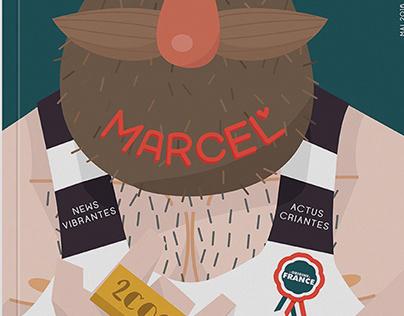 MARCEL - Création artistique d'un magazine