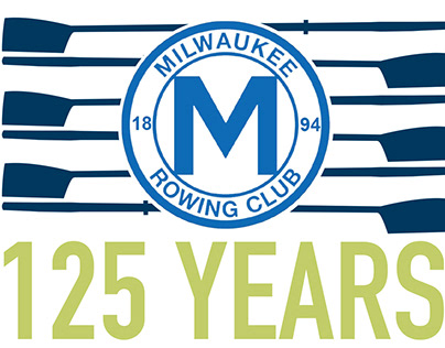 125th Anniversary Identity: Milwaukee Rowing Club