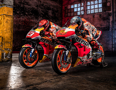 Honda & HRC photos and video making of 2020.2021