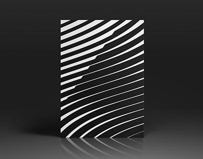 Stripe Tease / print series