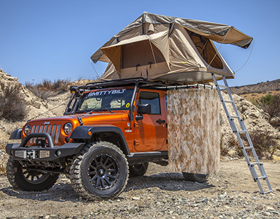 Camp Shower   Jeep