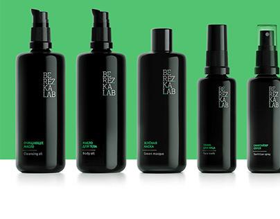BerezkaLab cosmetics packaging