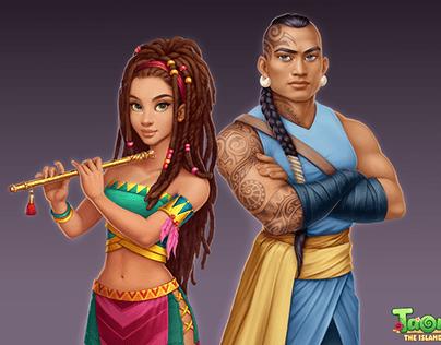 Characters Taonga™