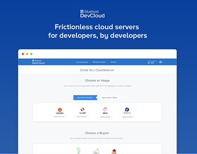 DevCloud - Frictionless Cloud Hosting Platform