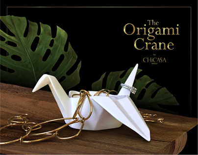 The Origami Crane by Chicasa Manila, Inc.