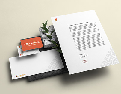 Il Borghista - Branding and UI